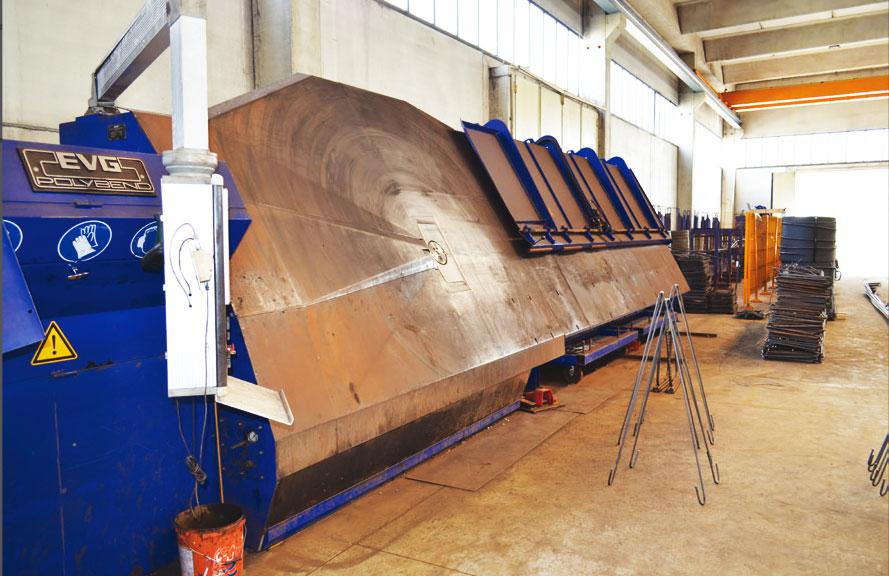 Lavorazione armature per cemento armato Latina