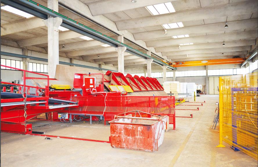 Lavorazione barre per cemento armato Latina